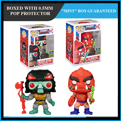 $99.99 • Buy Funko Pop Masters Of The Universe : BLAST-ATTAK + CLAWFUL Set Of 2 SDCC  MINT