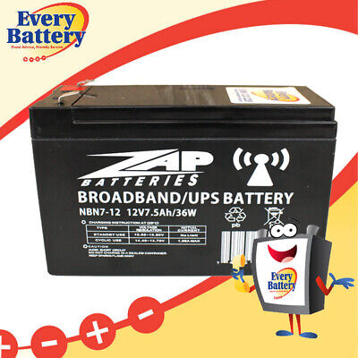 AU34.95 • Buy NBN Battery VRLA 12V 7Ah Heavy Duty