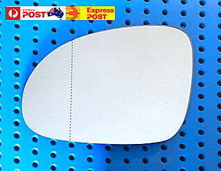 AU19.99 • Buy Left Mirror Glass To Suit VW GOLF V MK5 04-08,PASSAT,JETTA,EOS Heated W Base
