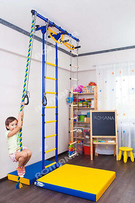 £268.27 • Buy Kid's Home Gym Indoor Swedish Wall Playground Set For Kids Room - Carousel R55: