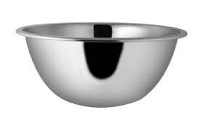 Stainless Steel Deep Mixing Salad Bowl In 14 Different Sizes And Sets (CHEAPEST) • 8.97£