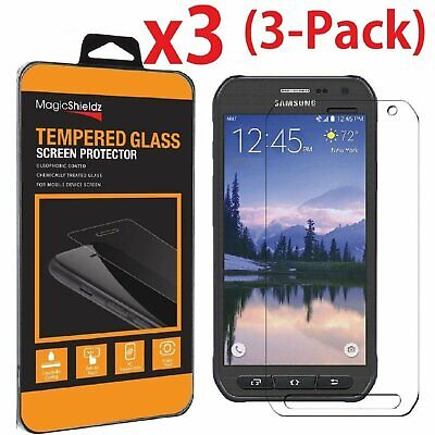 $ CDN6.29 • Buy 3 PACK Premium Tempered Glass Screen Protector For Samsung Galaxy S6 Active