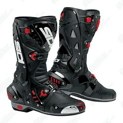 £239.99 • Buy SIDI Vortice Black/Black SPORTS Motorcycle/Motorbike Boots Ideal For Track Use