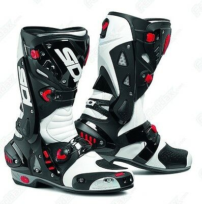 £239.99 • Buy SIDI Vortice White/Black SPORTS Motorcycle/Motorbike Boots Ideal For Track Use