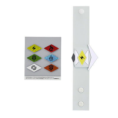 $22.99 • Buy Pokemon Center Original Rubber Band Z Ring Wrist Band With 6 Type Sticker Japan