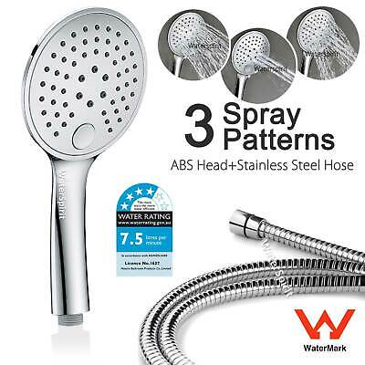 AU32.50 • Buy Wels Single Hand Held Shower Head Spray  Replacement 1.5m Hose Set Multifunction
