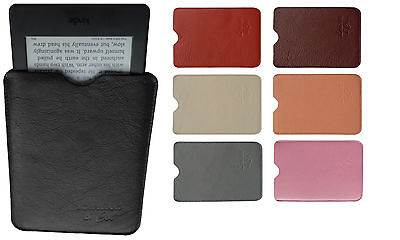 Kindle Protective Sleeve Cover - Paperwhite & Voyage Real Leather UK Made SALE • 12.99£