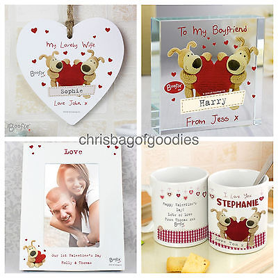 PERSONALISED BOOFLE ROMANTIC HEART Gifts For My Wife Husband Him Her Women Men  • 7.50£