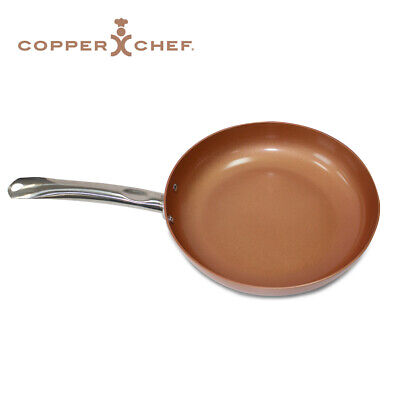 View Details Copper Chef 360 Non-Stick 10  Deep Round Frying Pan For Gas Electric Induction • 14.99£