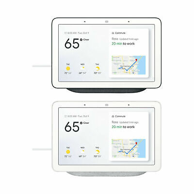 AU101 • Buy Google Home Nest Hub 7'' With Built-In Google Assistant Smart Home