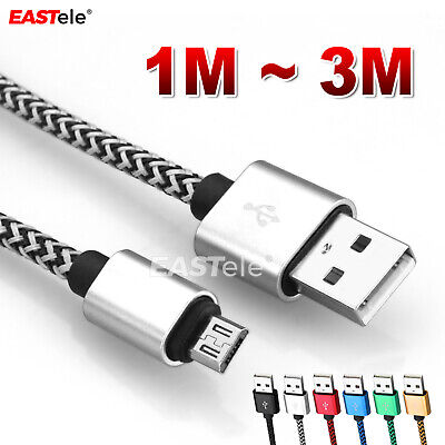 AU7.65 • Buy Braided USB Charger Cable For PLAYSTATION PS4 Dualshock 4 Wireless Controller