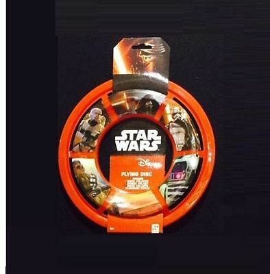 New Ultimate Star Wars 7 Frisbee, Flying Space Disc, Red Ring, Free Postage • 2.29£