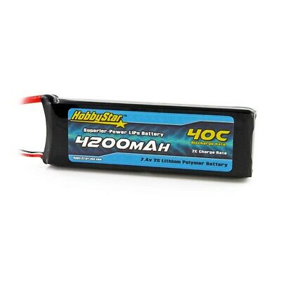 $ CDN40.85 • Buy HobbyStar 4200mAh 2S 7.4V 40C LiPo Battery EC3 Plug Drone Heli Quadcopter Pack