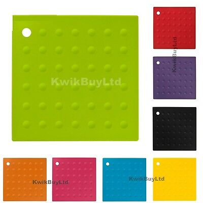 £2.99 • Buy  Silicone Heat Resistant Travel Mat Unisex Heat Proof Mat Assorted Colour