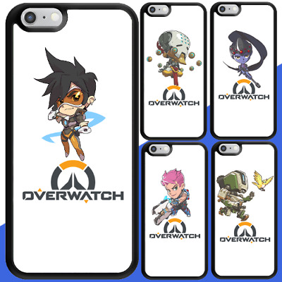 AU12.95 • Buy IPhone X 8 8 Plus 7 6s 6 SE 5c Shockproof Bumper Case Overwatch Characters Cover