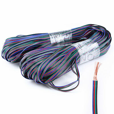 $5.50 • Buy RGB 4-Pin Extension Cable Wire Connector Cord For 3528 5050 RGB LED Strip Light