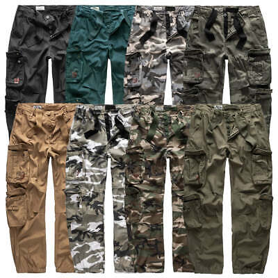 £34.99 • Buy Surplus Mens Cargo Combat Military Army Work Trousers Camouflage Pants Combats