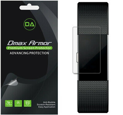 $ CDN8.87 • Buy [6-Pack] Dmax Armor Full Coverage Clear Screen Protector For Fitbit Charge 2