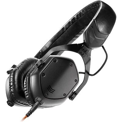 V-Moda XS Compact Noise-Isolating On-Ear Folding Metal Headphones (Matte Black) • 159£