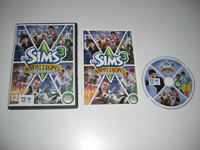 £7.99 • Buy THE SIMS 3 AMBITIONS Pc DVD / Apple MAC Add-On Expansion Pack SIMS3 FAST POST