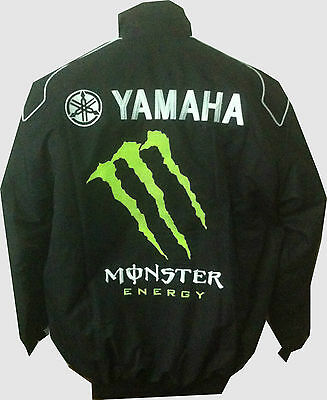 AU119.07 • Buy Jacket-blouson-jaquette.yamaha Racing Team All Logo In Brodery