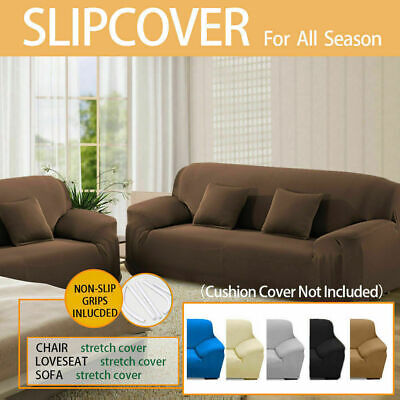 AU29.99 • Buy Sofa Cover Couch Stretch Lounge Protector Slipcover 1/2/3/4 Seater Washable
