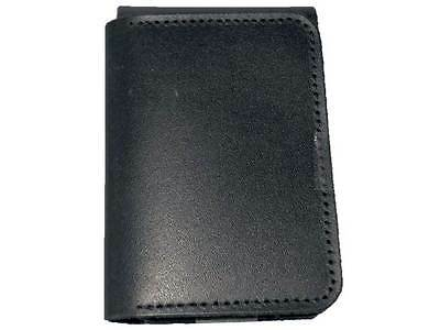 Leather ID / Warrant Card Holder / Wallet For POLICE SECURITY OFFICER PCSO COP • 11.99£