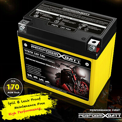 AU54.95 • Buy 12V 7Ah AGM Motorcycle Battery ATV Quad Dirt Bike 50cc 90cc 125cc YTZ7S > YTX5L