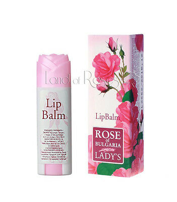 £6.50 • Buy Rose Of Bulgaria Natural Lip Balm Lipstick With Beeswax And Vitamin E
