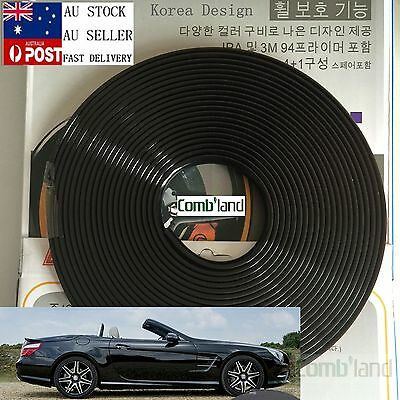 AU18.99 • Buy  Black 8M Car Wheel Rim Protector Tire Guard Rubber Moulding Adhesion Promoter