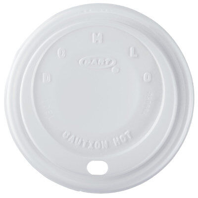 1000 X Dart White Sip Lids 16oz Cappuccino For Disposable Foam Polystyrene Cups • 62.70£