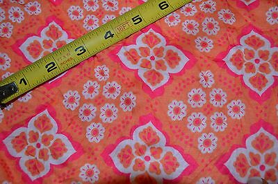 53  By 39  Peach Crinkle Jersey Fabric Material Kids Clothing 100% Polyester • 3.57£