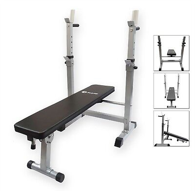 BodyRip Exercise Weight Bench With Dip Bars Sit Up Adjustable Heavy Duty Gym • 139.95£