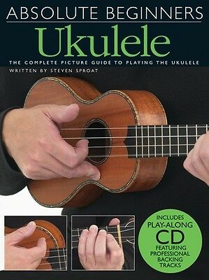 AU30.90 • Buy Absolute Beginners - Ukulele Book & Cd Complete Picture Guide To Playing Ukulele