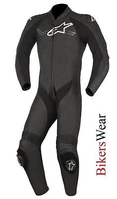 $640.22 • Buy Alpinestars Challenger V2 Leather 1PC One Piece Motorcycle Race Suit Black