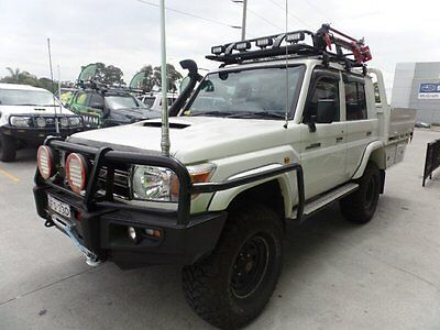 AU63990 • Buy 2012 Toyota Landcruiser VDJ79R MY13 Workmate Double Cab Manual 5sp M