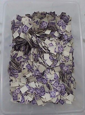 Statue Of Liberty 3 Cent Used Stamp Kiloware Off Paper 4lb Lot 15000 O