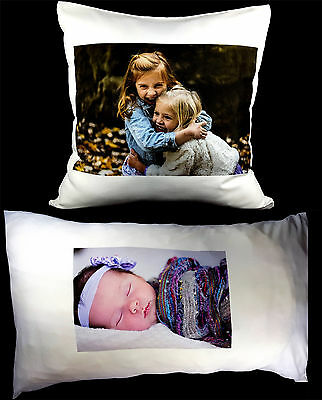 Personalised Cushion Or Pillow Case Collage Printed Photo Lovely Gift • 7.99£