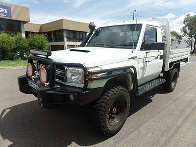 AU35900 • Buy 2008 Toyota Landcruiser VDJ79R Workmate Manual 5sp M Cab Chassis