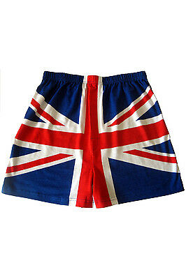 Mens 1 Pair Magic Boxer Shorts In Union Jack Pattern • 13.99£