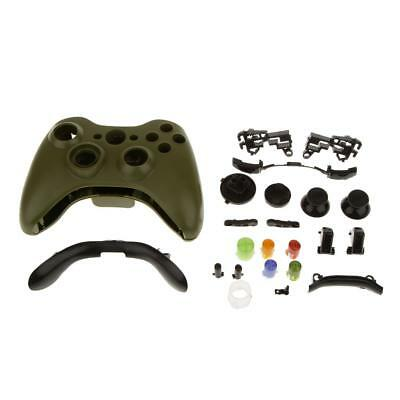 £5.52 • Buy Wireless Controller Cover Case Shell Housing Buttons For XBOX 360 Army Green