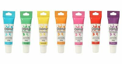 Colour Splash Concentrated Food Colouring Gel, 100% Edible, 29 Vibrant Colours • 2.83£