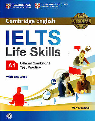 £10.44 • Buy Official Cambridge English IELTS LIFE SKILLS A1 Test Practice With Answers @NEW@