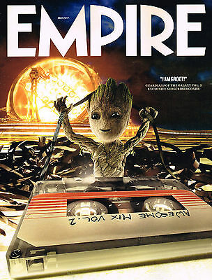 EMPIRE May 2017 GROOT Guardians Of Galaxy 2 ERIC BANA Arnold Schwarzenegger @NEW • 9.95£