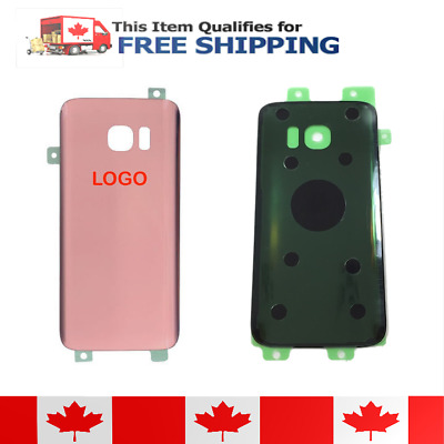 $ CDN9.45 • Buy Samsung Galaxy S7 Edge Rose Gold Battery Door Replacement Cover