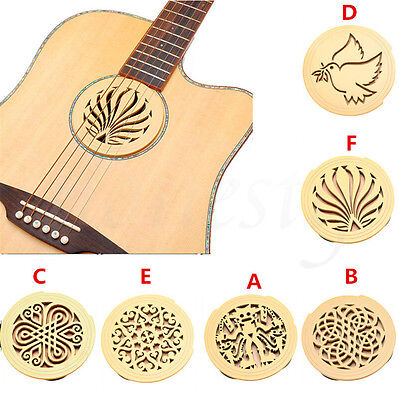 £5.69 • Buy Soundhole Cover For Acoustic Guitar Feedback Buster Sound Buffer Hole Protector