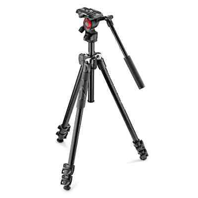 AU249 • Buy Manfrotto 290 Light Aluminum Tripod With Befree Live Fluid Video Head
