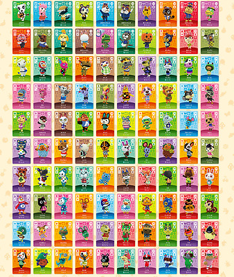 AU13.97 • Buy Animal Crossing Amiibo Series 2 Cards # 101-200 Card Works In Ac New Horizans