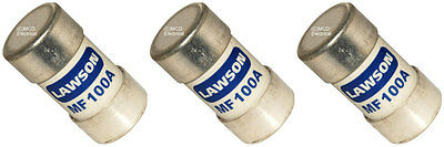 3 X 100 Amp Cut Out Fuses BS88 • 15.25£