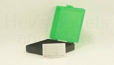 AU8.21 • Buy BERRY'S PLASTIC AMMO BOX, GREEN 100 Round 9MM / 380 - BUY 5 GET 1 FREE